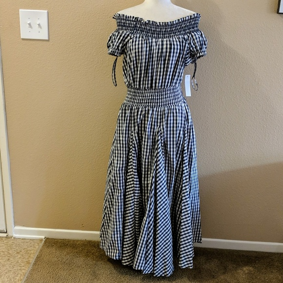 f5bf4f5cf2a Chelsea   Theodore Dresses   Skirts - CHELSEA   THEODORE Gingham Boho ...